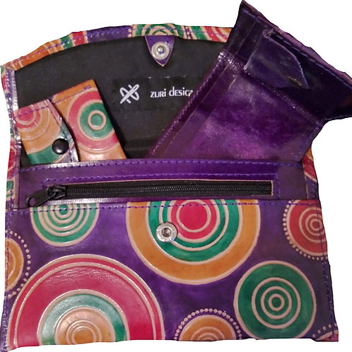 ZURI SWIRL DESIGN PURSE