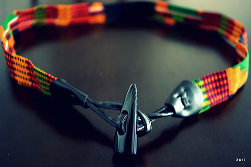 Kente hook belt
