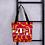 Thumbnail: Flowery print Tote Bag