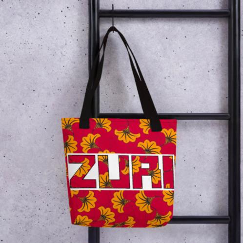 Flowery print Tote Bag