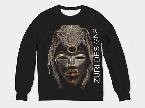 ZURI AFRICAN MASK SWEATER