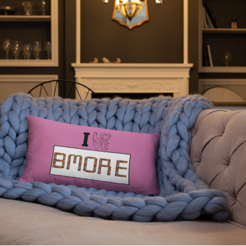 I Love Bmore Pillow