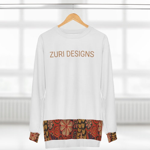 ZURI EMBROIDERY PRINT SWEAT