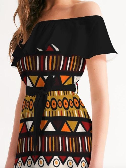 ZURI OFF-SHOULDER DRESS