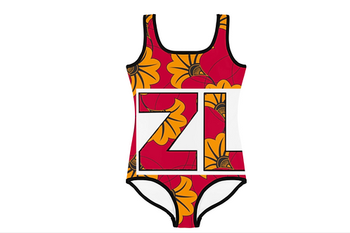 Zuri Kids Flowery Swimsuit