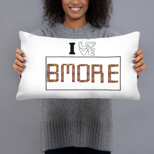 I Love Bmore Pillow