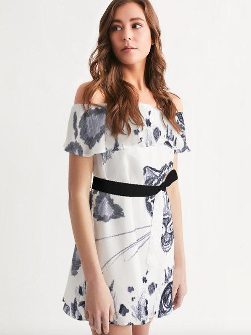 ZURI OFF SHOULDER DRESS
