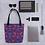 Thumbnail: Zuri designs flowery tote bag