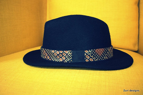 Zuri Designs Unisex fedora Hat