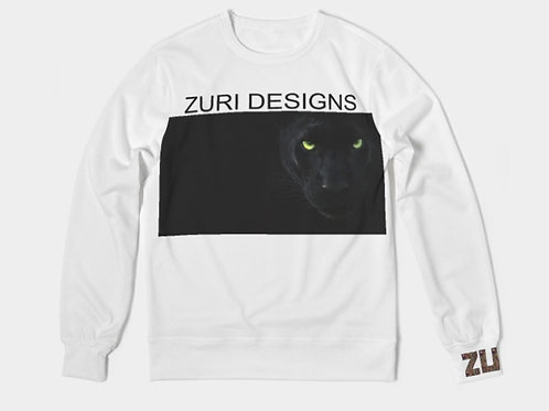 WHITE PANTHER SWEATER