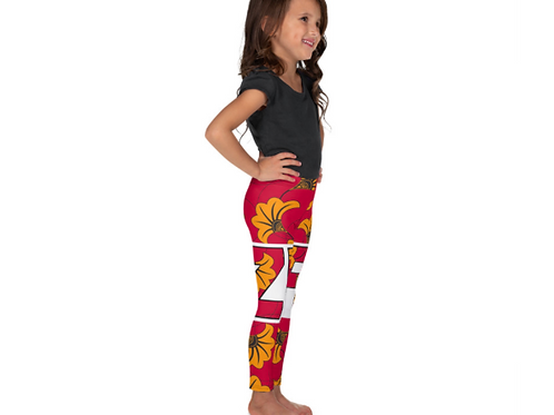 Zuri kids Flowery Leggings