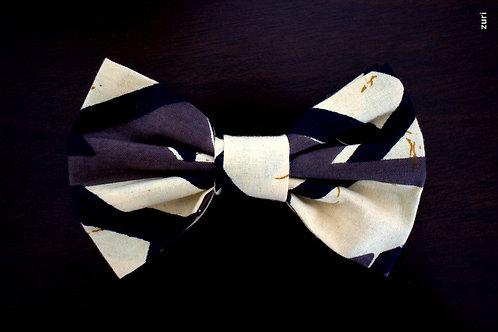 zebra bow-tie
