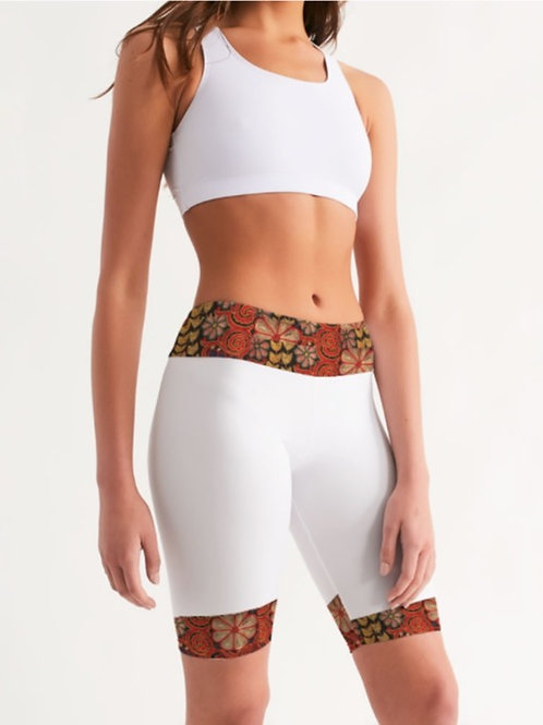Zuri Midi-Rise Shorts