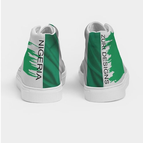 NIGERIA HIGH TOP SHOES