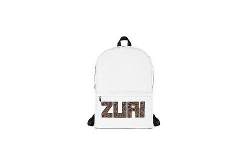 White Zuri Back pack