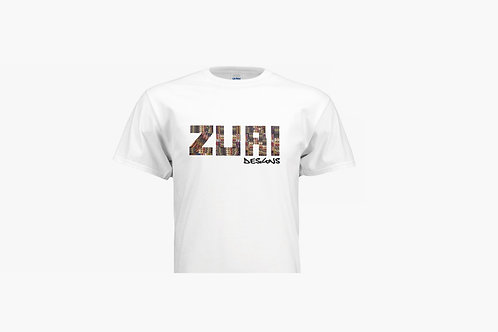 White Zuri design T