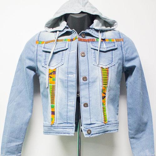 Zuri hoodie denim Jacket