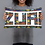 Thumbnail: Zuri Designs Throw pillow