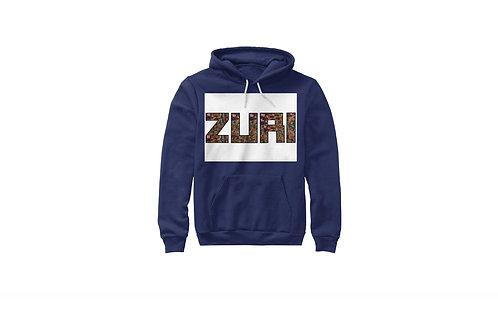 Zuri Canvas Poly-cotton hoodie