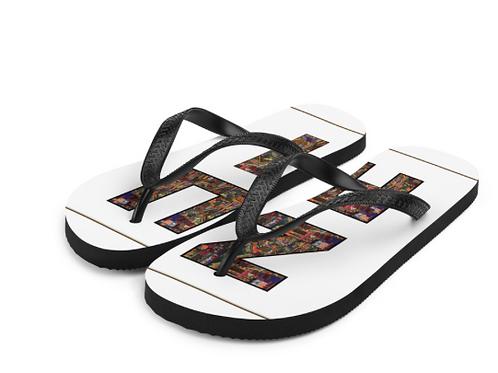 Zuri White Flip Flop