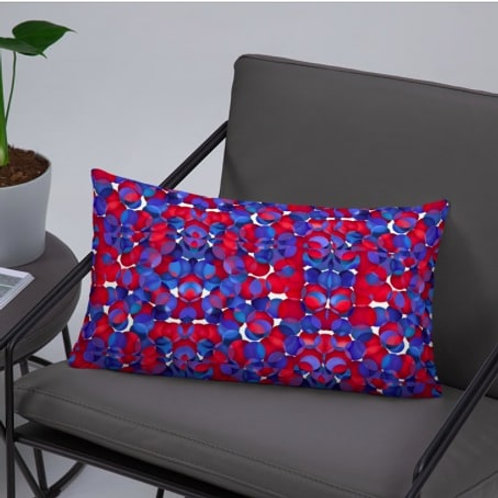 Zuri flowery Throw pillow