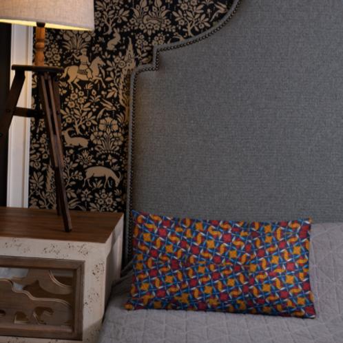 Zuri designs multi color pillow