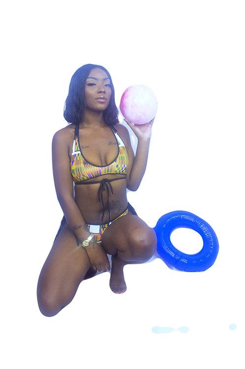Zuri Kente Bikini