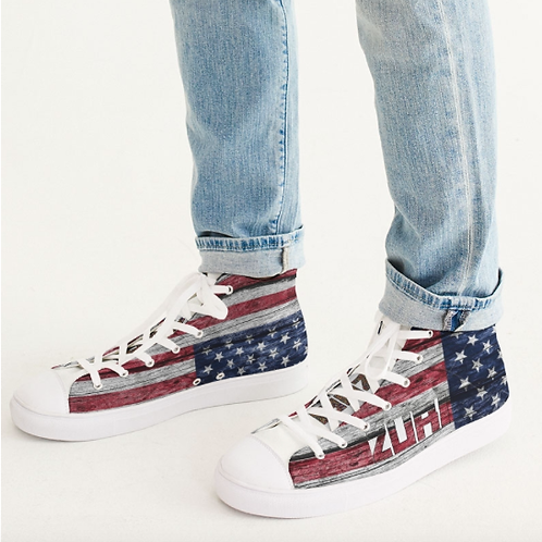 Zuri High-Top USA Sneakers