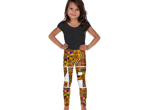 Zuri kids kente Leggings