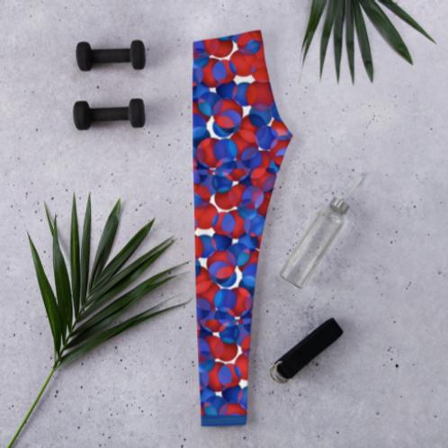 Zuri Flowery Leggings