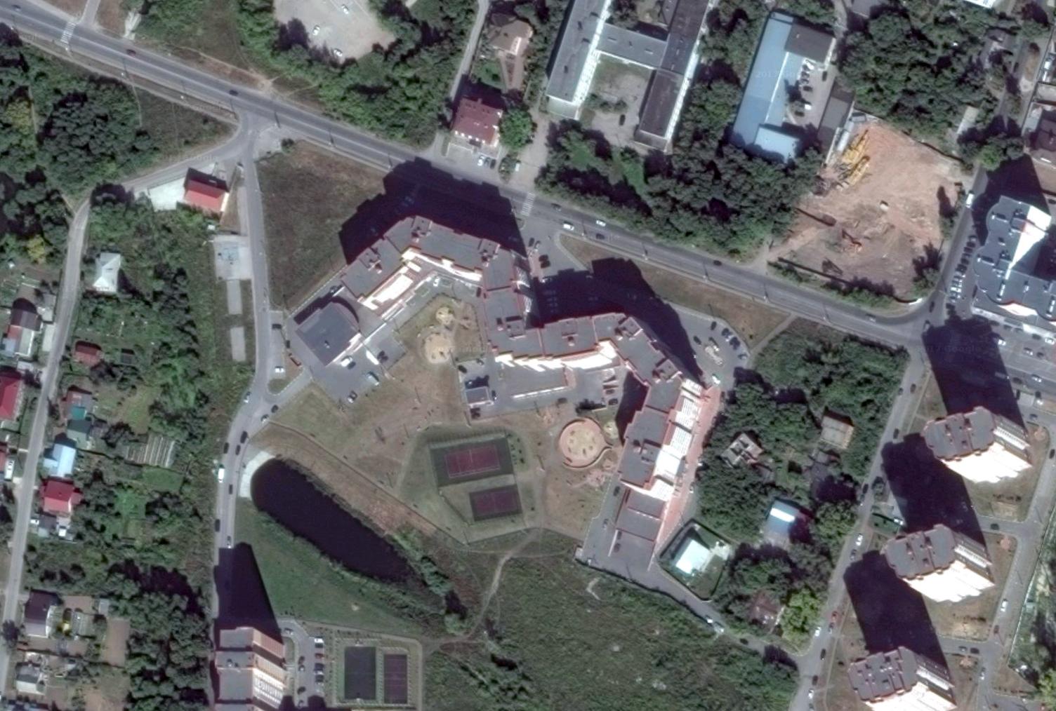 Жилой комплекс в Рязани