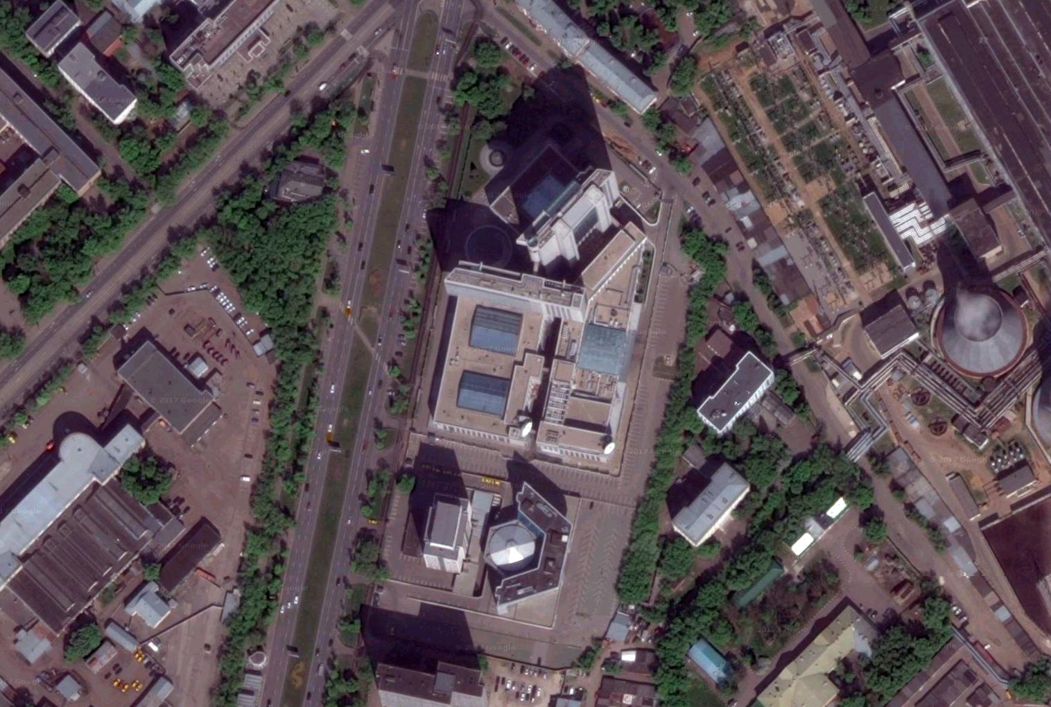 Здание Сбербанка. Москва
