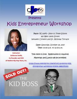 Kids Entreprenur Workshop