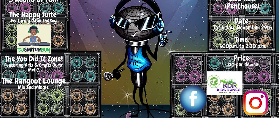 Party Like A Rock Star Family Disco!