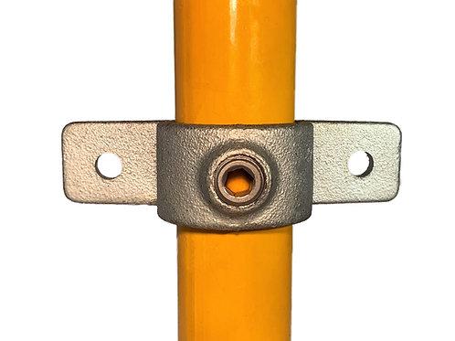 Toe Board Fixing (198) galvanised clamp on yellow tube