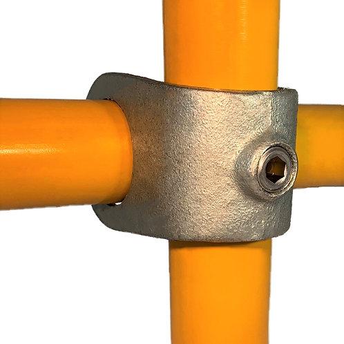Add on Tee (160) galvanised clamp