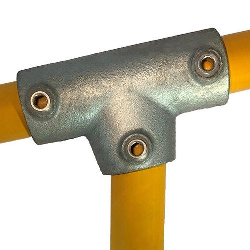 Slope Long Tee (155) galvanised clamp