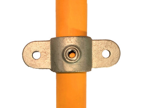 Double Swivel (167m) galvanised clamp