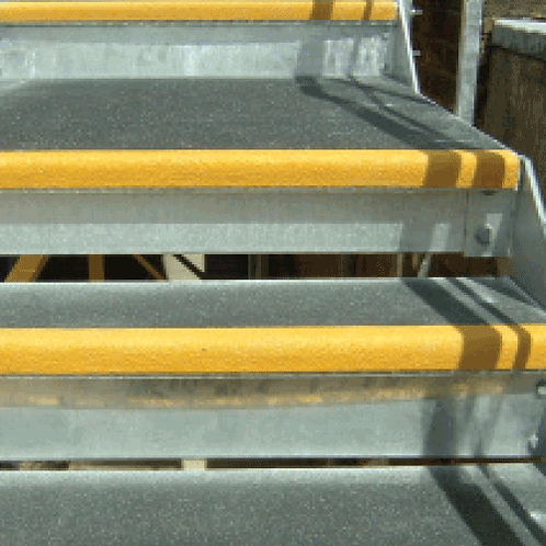 yellow stair grip