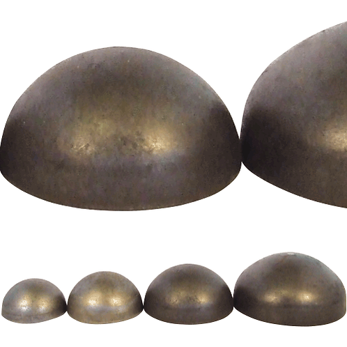 Weldable Domed Caps
