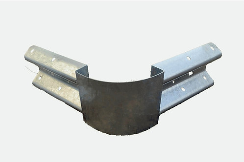 Crash Barrier Adjustable Sprung Corner Bullnose