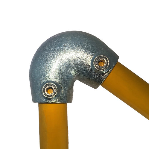 Acute Angle Elbow (123) galvanised clamp