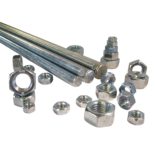 Galvanised and BZP threaded bar options with different sizes