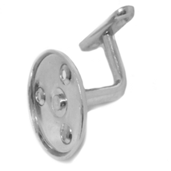 silver BZP handrail brackets with saddles