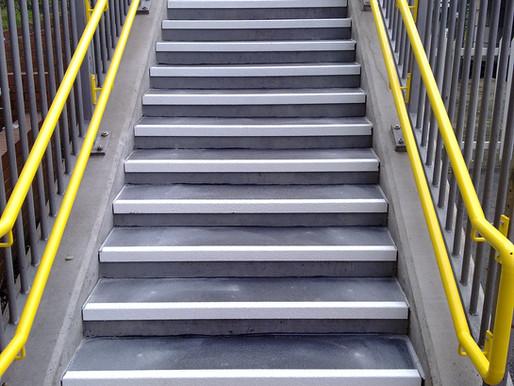 Anti–Slip Stair Nosing