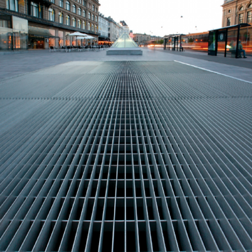 Cut and Banded Open Mesh Flooring City