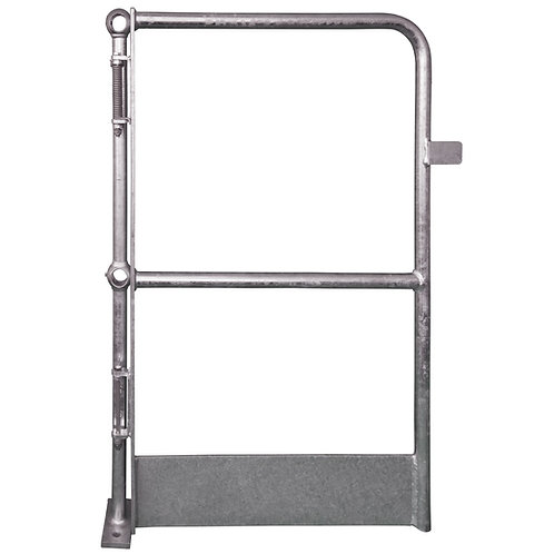 galvanised silver Full Height Self Closing Gate