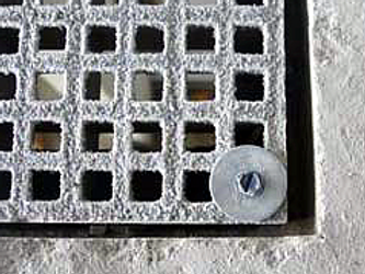 GRP Grating Service Risers