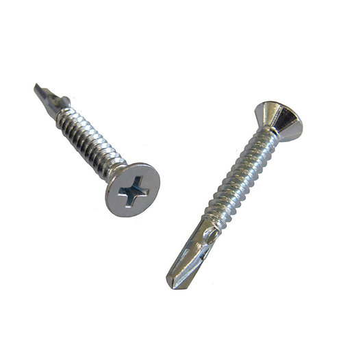 DDA Clamps Fittings self drilling screws silver colour