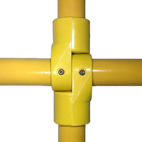 Yellow GRP P Joints with bolts